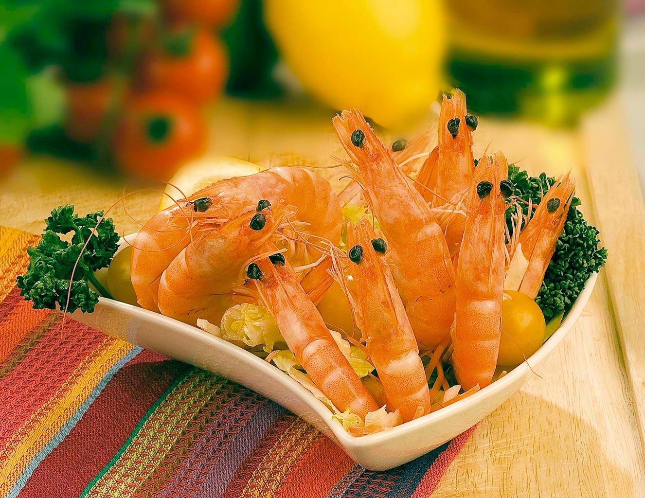 Crevettes Brésil