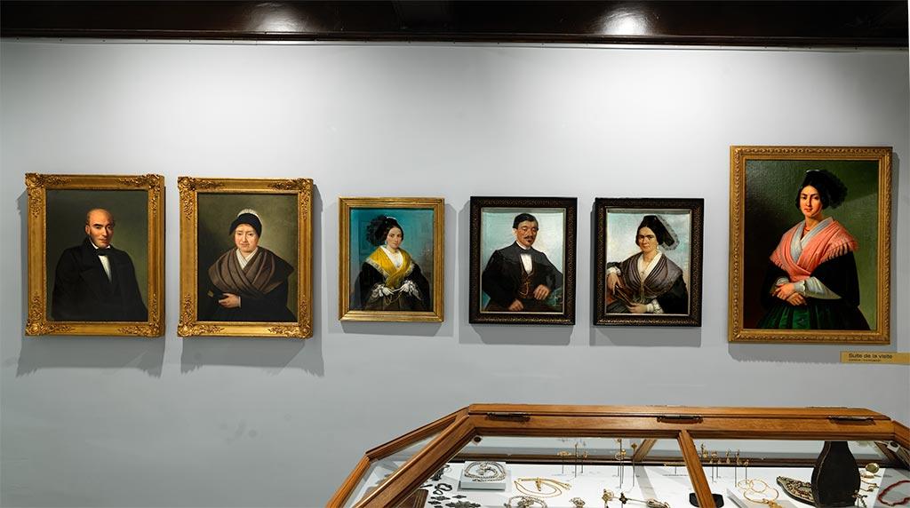 Portraits 19ème siècle 2