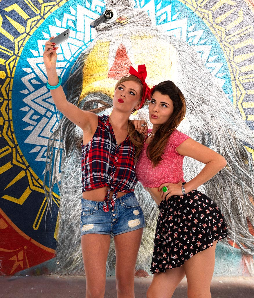 Selfie Marie & Lili 2